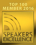 Speakers Excellence Top 100 Member 2015/16